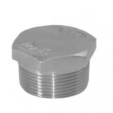 """Zeskant Plug Cylindrisch 316 1/4"""""""
