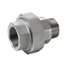 316L Union Conical m/f/ ASTM A 182, NPT 3000 Lbs 1/4""