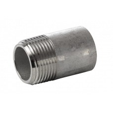 "316L  pipe nipple t.o.e. NPT 3000LBS  1/4""  x  101.6 mm"