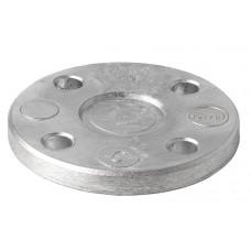 Aluminium blindflenzen, DIN 2527 ND 10 NW 80