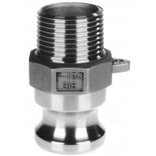 """Bsp Snelkoppelingen 316 Adaptor Type F Bu draad 1/2"""""""
