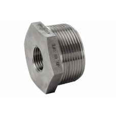 """316L Reducing Ring  ASTM A 182, NPT 3000 Lbs 11/4"""" x 1/2"""""""