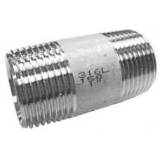 """Pijpnippel    1/4"""" x  30 mm"""